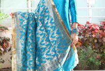 Bridal & Party Gharara / Beautiful hand made jaal all over dupatta