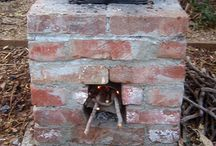 Rocket stove, rocket mass heater