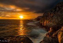 Tramonti / Bellissimi tramonti da tutto il mondo.. Beautiful sunsets and sunrises from all over the world ..