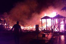 MASSA: UNA PROVINCIA INFIAMMABILE / Incendi dolosi (o presunti tali) negli ultimi cinque anni nelle provincia di Massa Carrara