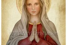 Mary, the Queen of all Saints / Our Blessed Mother, the Virgin Mary, the Queen of all Saints.