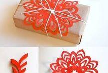 Christmas Decor & Gift-Wrapping Ideas / DIY decor and gift-wrapping ideas for Christmas