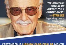 September: Library Card Sign Up Month