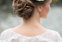 Wedding hairstyles and wedding make-up / Ideas for wedding hairstyles, accessories and make- up for your special day