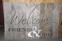 Carteles De Bienvenida