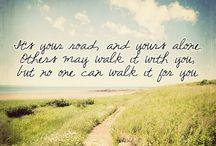 Inspirational Sayings  / by Paige Bartholic