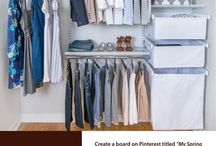 My Spring Closet / Everything I need for the perfect spring closet. #OrganizedLiving #SpringCloset / by Organized Living