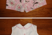 diaper shirts and shorts patterns