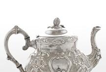 1865. Tetera plata