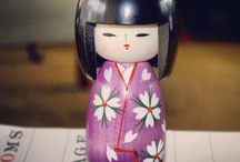 Japan.....Kokeshi ~  / by Nora Hickey