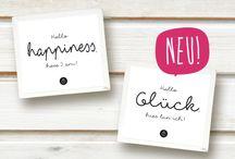 GLÜCKSBRINGER / Zeig dem Glück, wo es Dich finden kann ... show happiness where it can find you : )