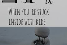 Kids || Rainy Day Activities / Activities for when you're stuck inside