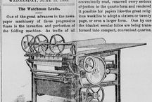 Historical Printing Presses / by Vermont Digital Newspaper Project/VTDNP