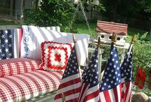 It's Summer / 4th of July and summertime decorating ideas / by Kimberly Morris