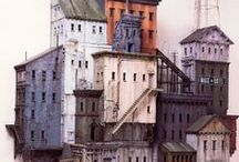 Michael .C. McMillen / an inspiring architecture model artist these are stunning pieces of work