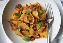 Pasta recipes and sauces