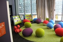Inspiration: Children's Libraries / Beautiful children's libraries full of kids books and places to read! A collection of some of the most gorgeous kids library spaces we could find on the interweb.