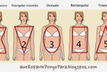 Tipos de cuerpos / La Morfologia de cada mujer y todos los tips que nos convienen saber  a la hora de comprar y lookear