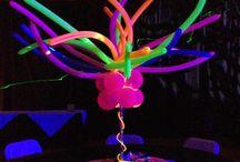 centros de mesa neon