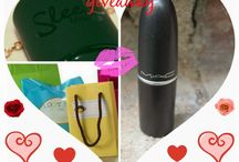 Beautiful As Always New Year Giveaway with MAC , Sleek and More  / giveaway