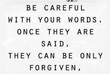 Words!