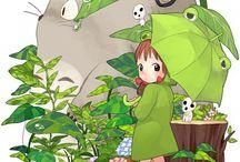 by Hayao Miyazaki / Anime
