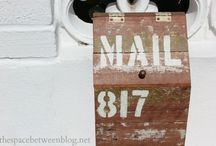 Letter box DIY