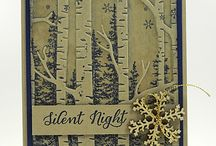 Woodland Texture cards