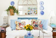 """My cottage shared by Cottages and Bungalows Aug/Set 2014 """"easy seaside style"""" Aug/Sept 2017 issue"""