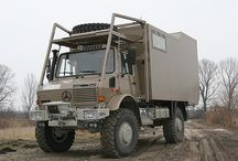 Unimog Camper / Unimogs made into overland campers. What else?