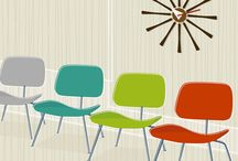 Mid Century Colors  / Colors from the 50's, 60's and 70's / by Donna Mibus