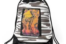 *Back to School / Cool Back to School Fashions and Supplies, as well as, study tips, organizing your supplies and ideas. Original Art Cindi Hardwicke on Tees & Tops, Pencil Pouches, cellphone cases, laptop skins and pouches, clocks, hoodies, graphic tees, tshirt dresses.