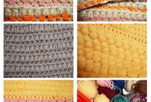 Knitting / Crocheting (by R & R) / Ouvrages au tricot/crochet.