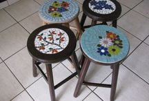 Mosaic your wooden table
