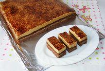 prăjitură cu cremă de vanilie si spuma de ness