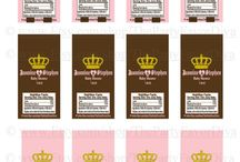 Printable Candy Wrappers / by Barbara