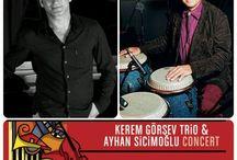 Kerem Görsev Trio & Ayhan Sicimoğlu Concert