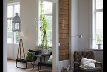 Wood wall / by Connys Cottage ...