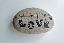 Painted Stones / Ideas for painting pebbles & Stones