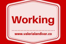 Working / Trabajando / by Valeria Landivar