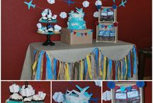 Airplane bday party