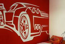 Αγόρι - Ζωγραφική παιδικού δωματίου / Ιδέες για τη διακόσμιση του παιδικού δωματίου από το Artease Design Lab.
