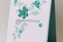 Cards - SU summer silhouette