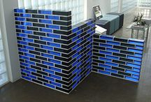 Color Glass Block / Color Glass Block used in all different applications