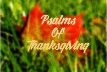 Psalms Of Thanksgiving / Devotions for Thanksgiving.