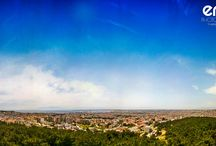 Eris panorama wallpapers / Thesaloniki view froom my homE..Eris photography