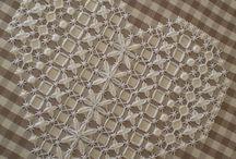 Gingham Cross-stitch