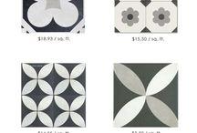 Stencil carpets