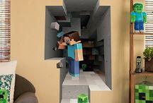 AJ's bedroom / by Myla Myers