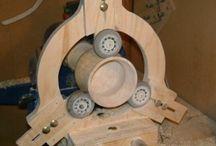 Wood Lathe Steady Rest